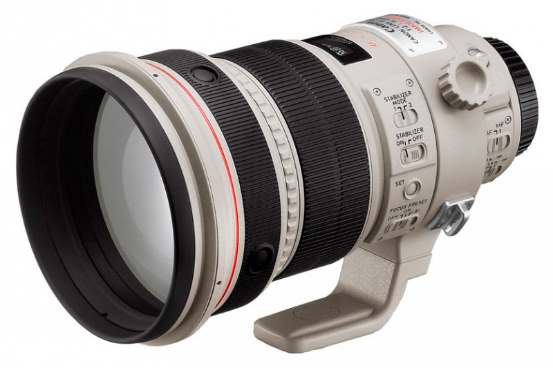 Объектив Canon EF 200 mm 2.0 L IS USM