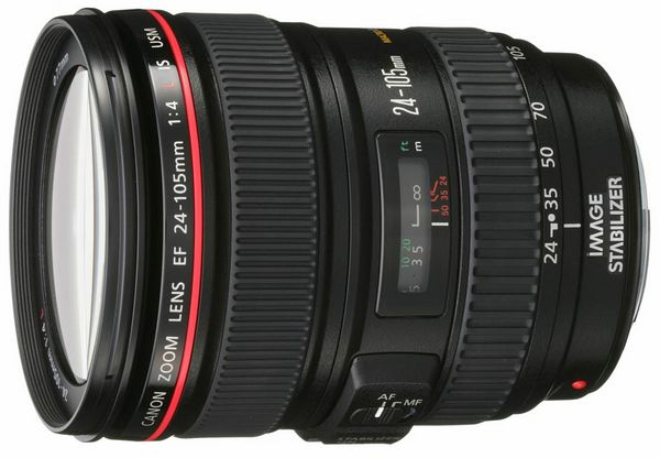 Объектив Canon EF 24-105 mm 4L IS USM